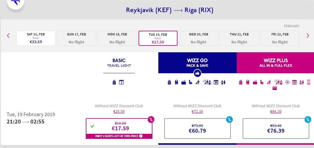 WizzAir PROMO SALE flights