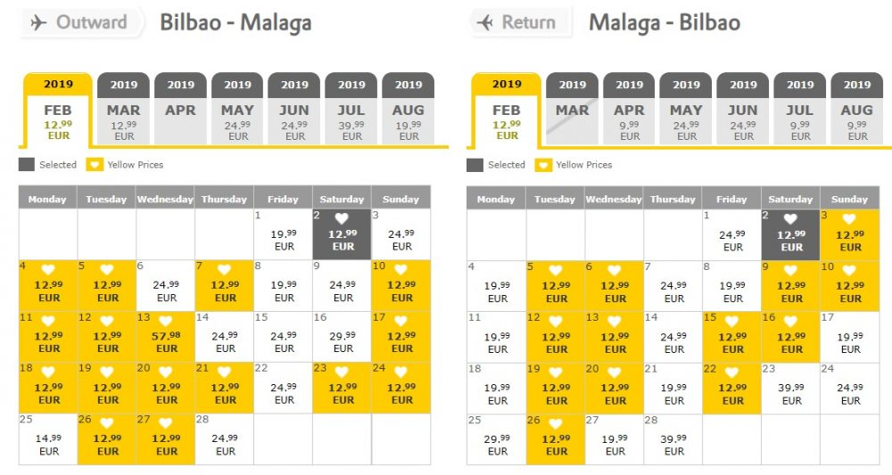 Vueling WINTER SALE
