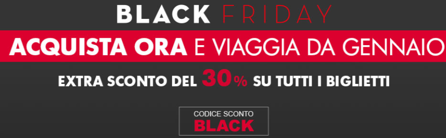 trenitalia black friday
