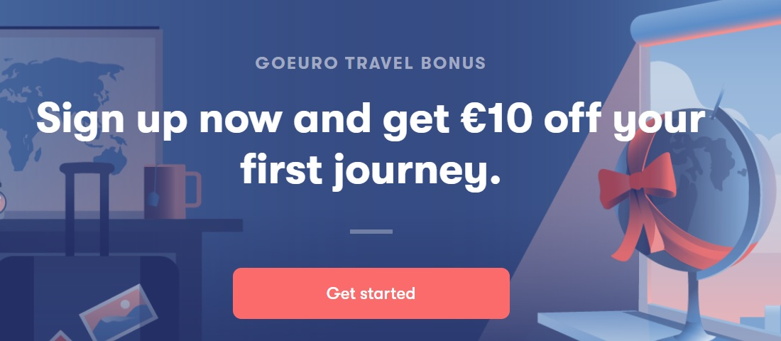 GOEURO PROMO CODE: €10 OFF for your next trip! - TravelFree