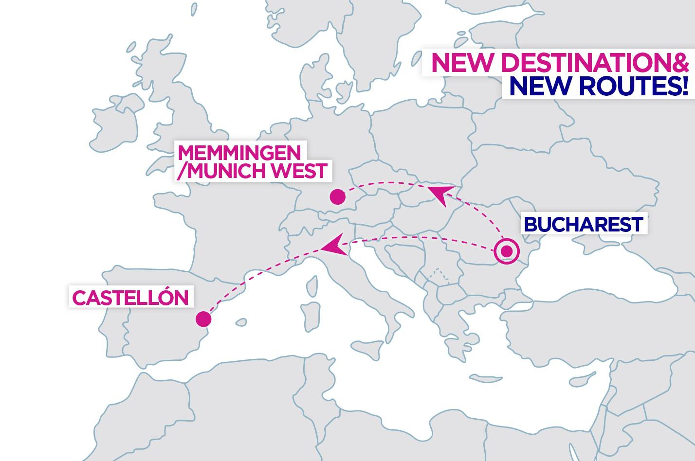 2 New WizzAir routes from Bucharest, Romania - TravelFree