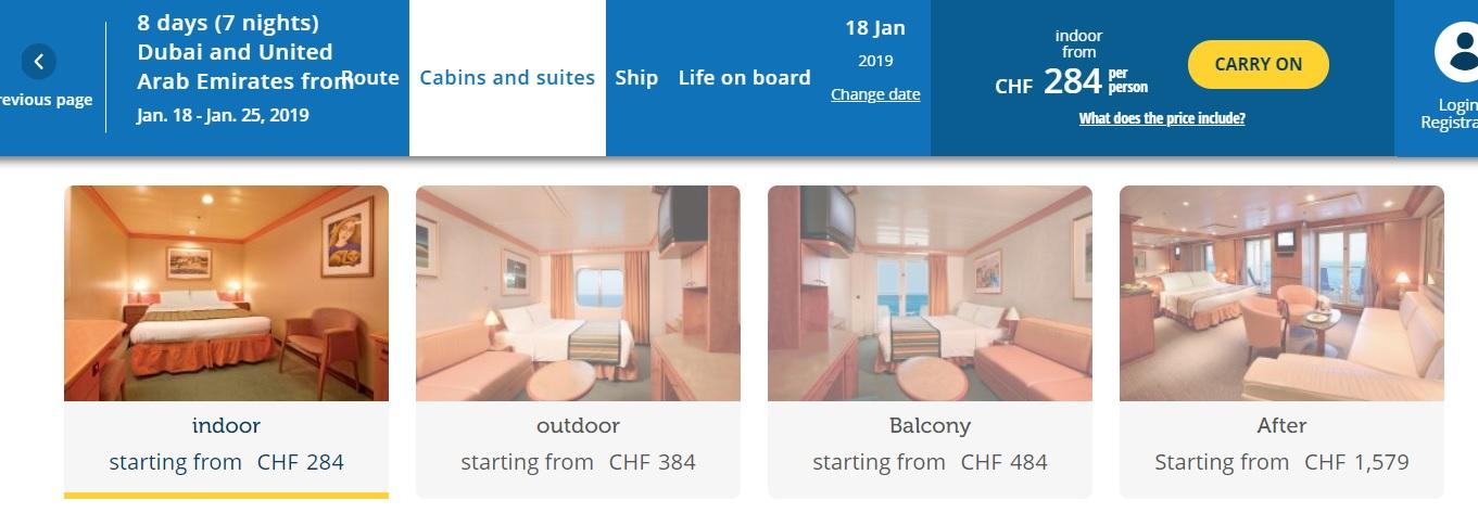Full Board cruise from Dubai around Persian Gulf