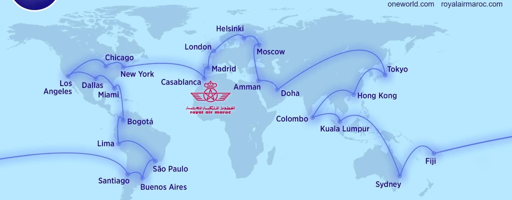 Royal Air Maroc joins Oneworld Alliance