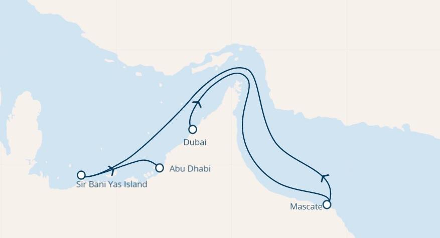 cruise dubai persian gulf