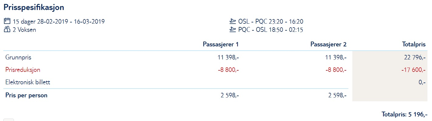 Cheap direct flight to VIETNAM from Oslo
