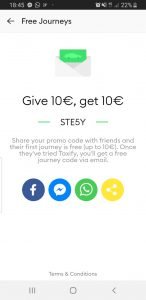 Taxi for FREE: Bolt promo code €10! - TravelFree