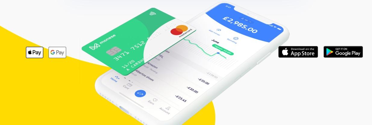 free bank card monese