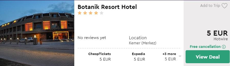 cheap all inclusive hotel kemer turkey
