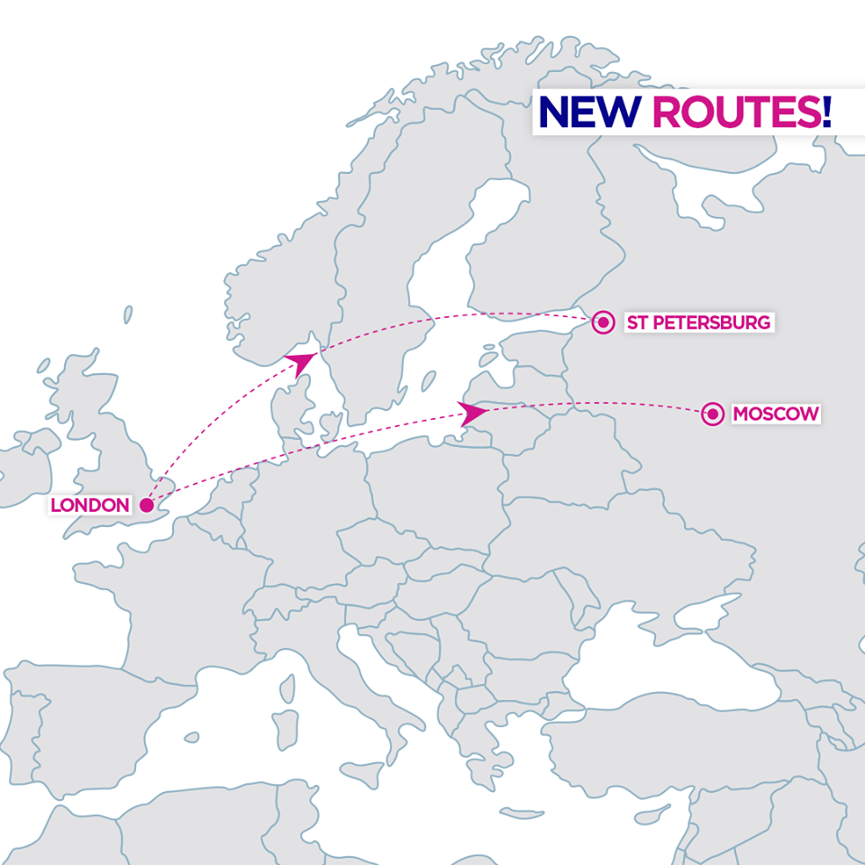wizz air new route london russia