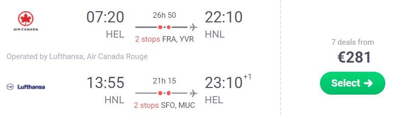 error fare flights to hawaii