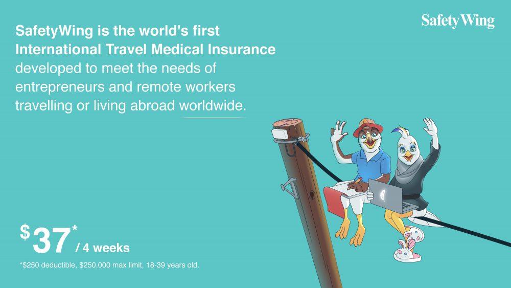 the best Worldwide Travel Medical Insurance for Digital Nomads