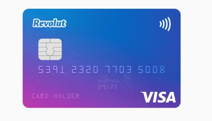 revolut card for free