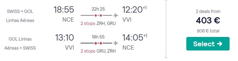 cheap flights france bolivia