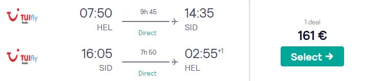 last minute flights helsinki cape verde