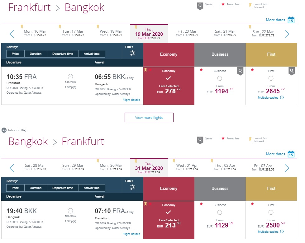 Qatar Airways Promotion Code 2020 Travelfree
