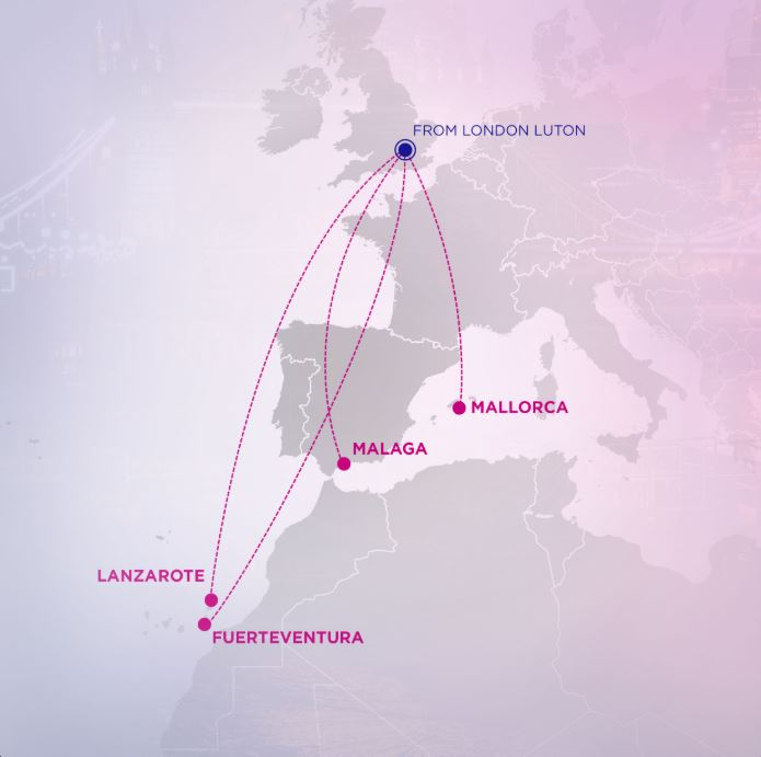 wizz air new routes from london luton