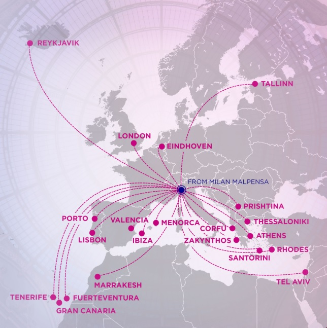 Wizz Air New Routes From Milan Malpensa Travelfree