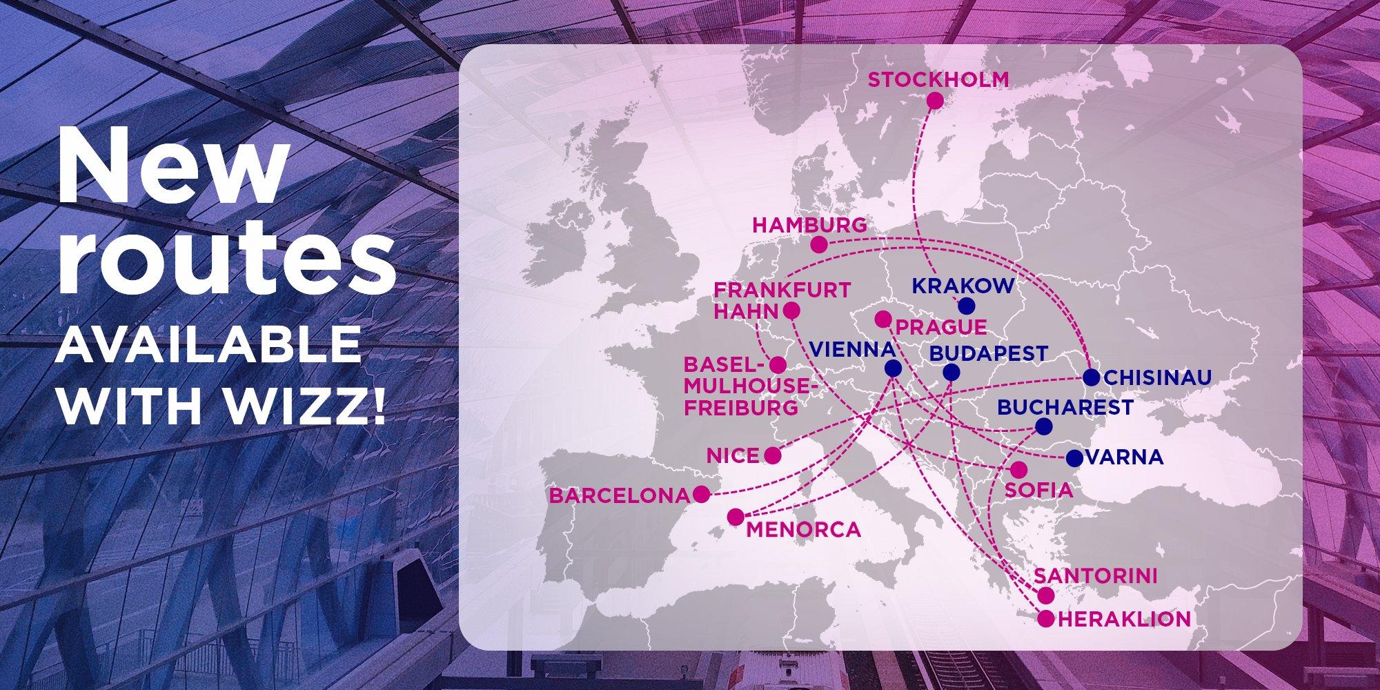 Wizz Air собирается летать в Чехию из Украины